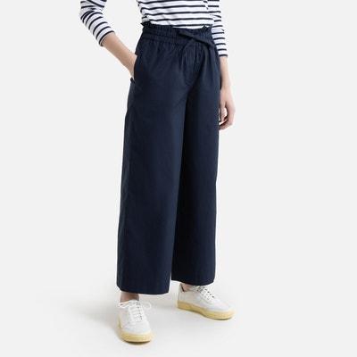 Rechte broek met elastische tailleband Rechte broek met elastische tailleband LA REDOUTE COLLECTIONS