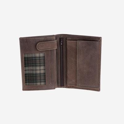 acheter en ligne 58cf9 c8db9 Porte monnaie homme cuir marron   La Redoute