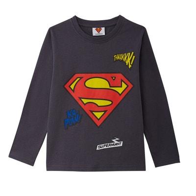 04ee65989bc72 ... ans T-shirt manches longues 6-. SUPERMAN
