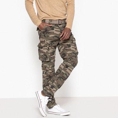 variété de dessins et de couleurs Conception innovante en ligne à la vente Pantalon camouflage homme | La Redoute
