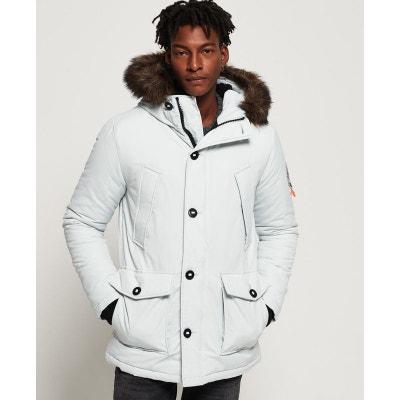 Manteau long blanc homme | La Redoute