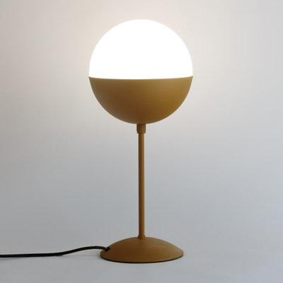 Voetlamp in metaal en opaline Chupa Voetlamp in metaal en opaline Chupa LA REDOUTE INTERIEURS