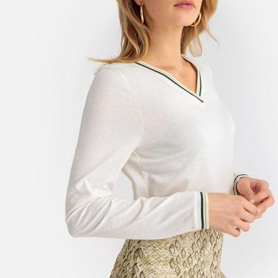 4ea83b85051e Tee shirt manche longue femme