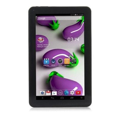 be689a9a09e510 Tablette 10 pouces Quad Core Android 4.4 WiFi Bluetooth 12Go Noir YONIS