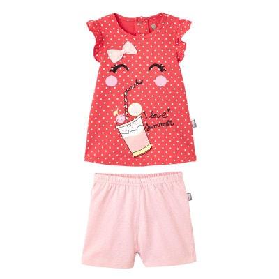 fefa8c63917a2 Pyjama fille Strawberry Pyjama fille Strawberry PETIT BEGUIN