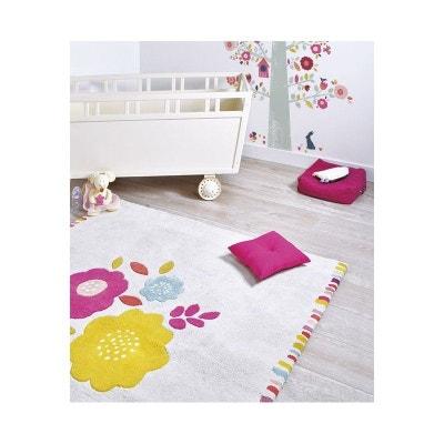 Tapis rose chambre bebe fille | La Redoute