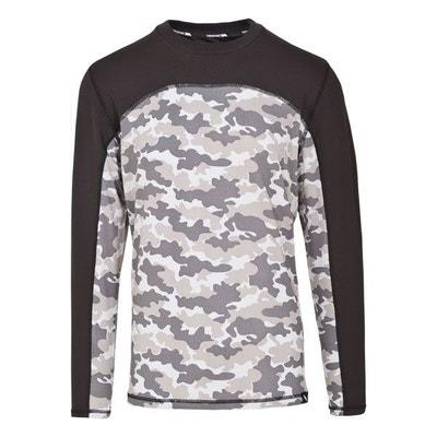 regarder prix bas promotion Tee shirt thermique homme | La Redoute