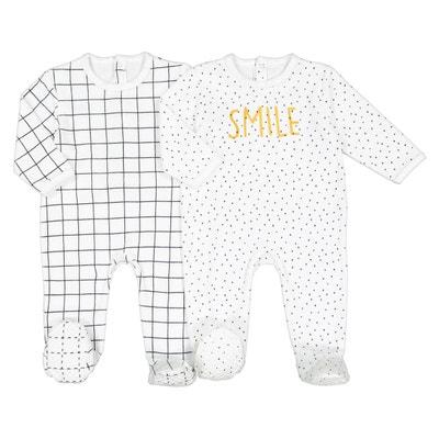 2c80b8d27334a Lot de 2 pyjamas velours