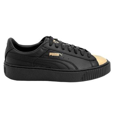 2e5921a7b659 Puma BASKET PLATFORM METALLIC Chaussures Mode Sneakers Femme Puma BASKET  PLATFORM METALLIC Chaussures Mode Sneakers Femme