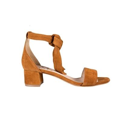 Sandales talon bride cheville | La Redoute