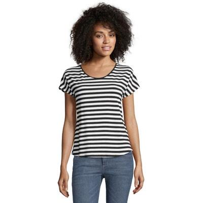 6c959184c98f1 T-shirt basique à rayures T-shirt basique à rayures CARTOON