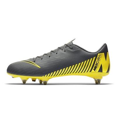 newest 62c2b fa5aa Chaussures football Nike Mercurial Vapor XII Academy SG-PRO Gris Jaune NIKE