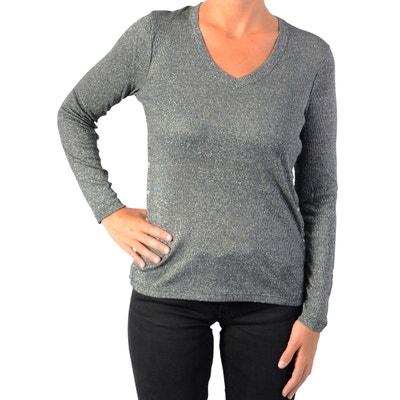 Redoute Shirt Longue Le CerisesLa Femme Temps Manche Des Tee eHE9YbWD2I