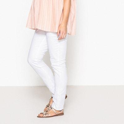 Blanc FemmeLa Blanc FemmeLa Pantalon Coton Blanc Redoute Pantalon Redoute Coton Coton Pantalon nm8Nw0