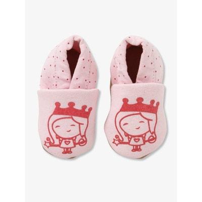 b26c08523b4a5 Chaussons de parc élastiqués bébé en textile VERTBAUDET