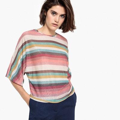 Solde En Femme Rayures T Redoute Shirt La gqzIf1
