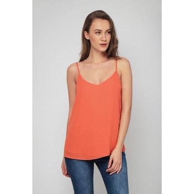 Orange Caraco Redoute Femme La Top l35TFcK1uJ