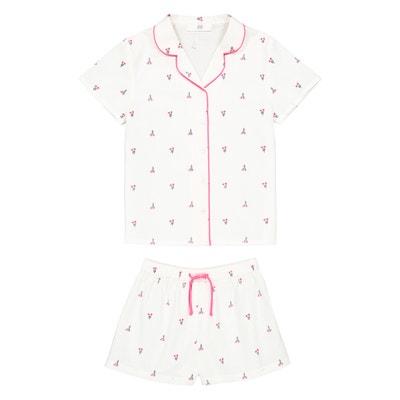 aa8cd0444840c Cotton Floral Print Short Pyjamas