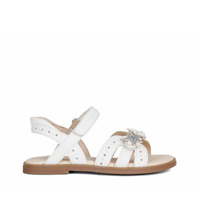 Geagodelia Sandales avec n/œud pour fille Semelle souple antid/érapante Chaussures de marche pour b/éb/é