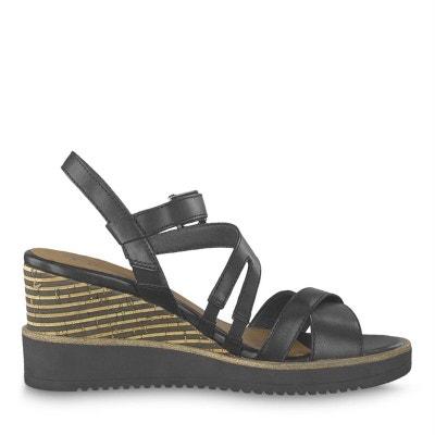 a27f9cff6feb sandales   nu-pieds cuir TAMARIS