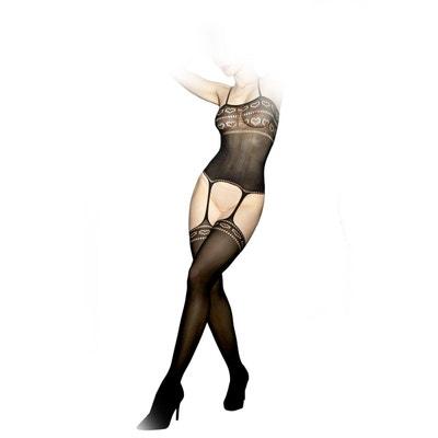 Combinaison Sexy Opaque COLLANTS LAUVE dabd634183b
