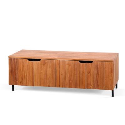 meuble tv design avec roulettes la redoute. Black Bedroom Furniture Sets. Home Design Ideas