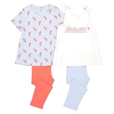 f4e853b29566d Lot de 2 pyjamas corsaire 3-12 ans Lot de 2 pyjamas corsaire 3-