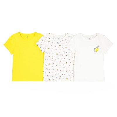 Set van 3 T-shirts met ronde hals 3-12 jaar Set van 3 T-shirts met ronde hals 3-12 jaar LA REDOUTE COLLECTIONS