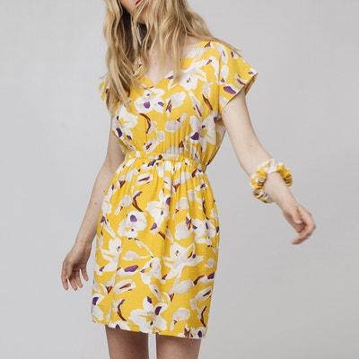 Korte jurk met bloemenmotief Korte jurk met bloemenmotief COMPANIA FANTASTICA