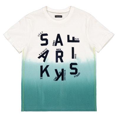 9d6fff9ca3933 T-shirt dip and dye imprimé devant 4-14 ans T-shirt dip