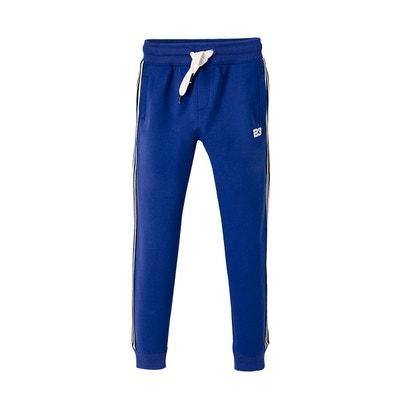 3b76131c39067 Pantalon de sport garçon à bandes latérales rayées Pantalon de sport garçon  à bandes latérales rayées