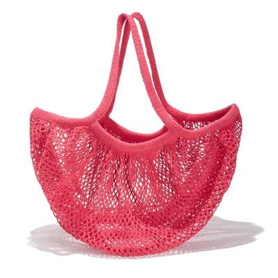 03fe2ad5 Bolso de red rosa Bolso de red rosa LA REDOUTE COLLECTIONS