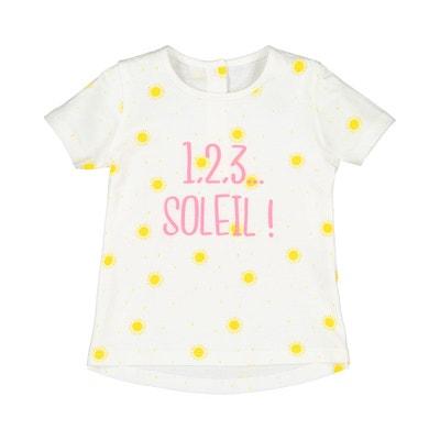 058ebd01f8838 T-shirt imprimé soleil 1 mois-4 ans T-shirt imprimé soleil 1