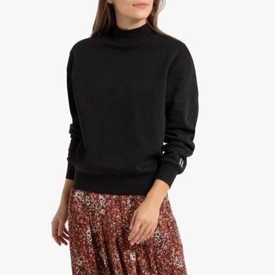 Sweater met opstaande kraag in bio katoen Sweater met opstaande kraag in bio katoen LA REDOUTE COLLECTIONS
