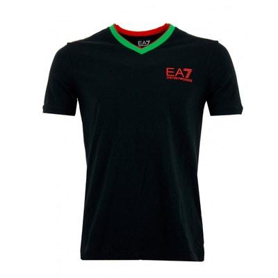 8e0f5fe7f5b0 Tee-shirt (Noir) Coton Tee-shirt (Noir) Coton EMPORIO ARMANI. Soldes