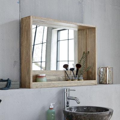 Miroir de salle de bain en solde BOIS DESSUS BOIS DESSOUS ...