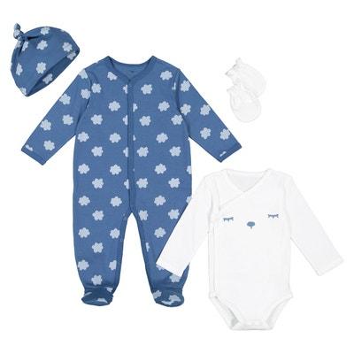 Ensemble kit naissance pur coton préma-12 mois Ensemble kit naissance pur  coton préma- 3510d9d253f