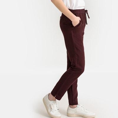 3994a756adf Pantalon droit lin majoritaire Pantalon droit lin majoritaire LA REDOUTE  COLLECTIONS