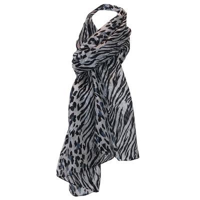 Foulard de soie léopard Foulard de soie léopard CHAPEAU-TENDANCE 226a8786852