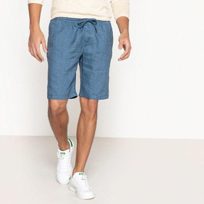 19a23871c39 Bermudas de lino con cintura elástica Bermudas de lino con cintura elástica  LA REDOUTE COLLECTIONS