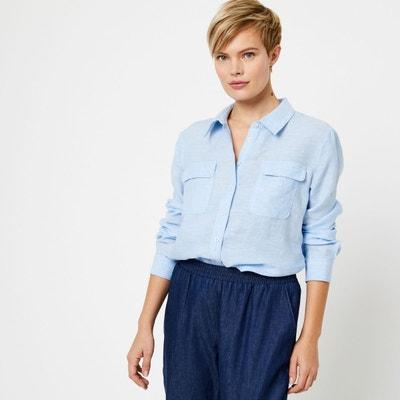 new list huge discount designer fashion Chemisier en lin pour femme | La Redoute