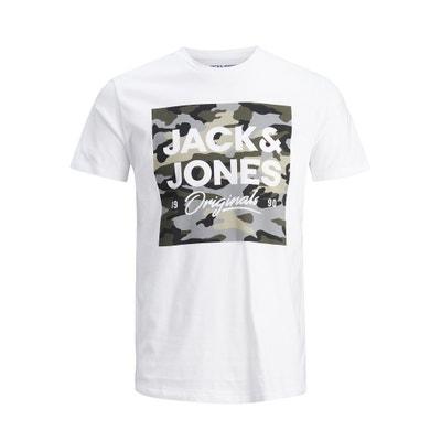 T-shirt Jorcamoclub T-shirt Jorcamoclub JACK & JONES