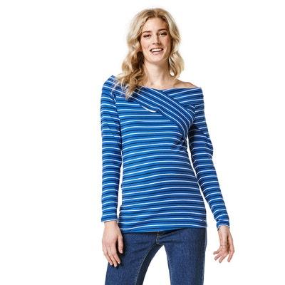 0bc0830afda2e Tee-shirt grossesse, chemise femme enceinte en solde | La Redoute