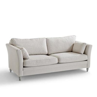 canape 3 places beige la redoute. Black Bedroom Furniture Sets. Home Design Ideas