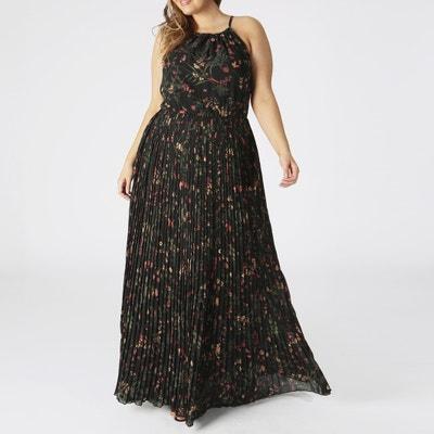 d646048136da4d Bedrukte wijde jurk met smalle bandjes KOKO BY KOKO
