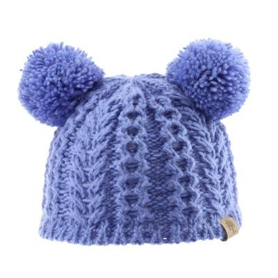 35155028550 Bonnet laine tricot pompons Bedford Road Bonnet laine tricot pompons Bedford  Road BABY PARTNERS