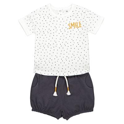 8e3570280 Conjunto de 2 prendas con camiseta y pantalón bombacho