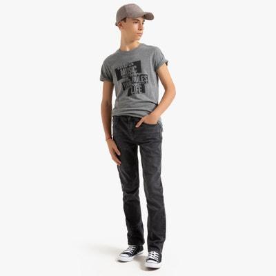 Rechte jeans 10-16 jr Rechte jeans 10-16 jr LA REDOUTE COLLECTIONS