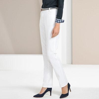 6d2eb77dc674 Pantalon droit 5 poches coton stretch Pantalon droit 5 poches coton stretch  ANNE WEYBURN