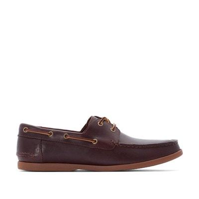 f4cc191500a Chaussures Bateau cuir Morven Sail Chaussures Bateau cuir Morven Sail  CLARKS. «